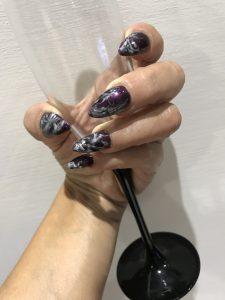 nail marble design - Malta hair and nails, Naxxar